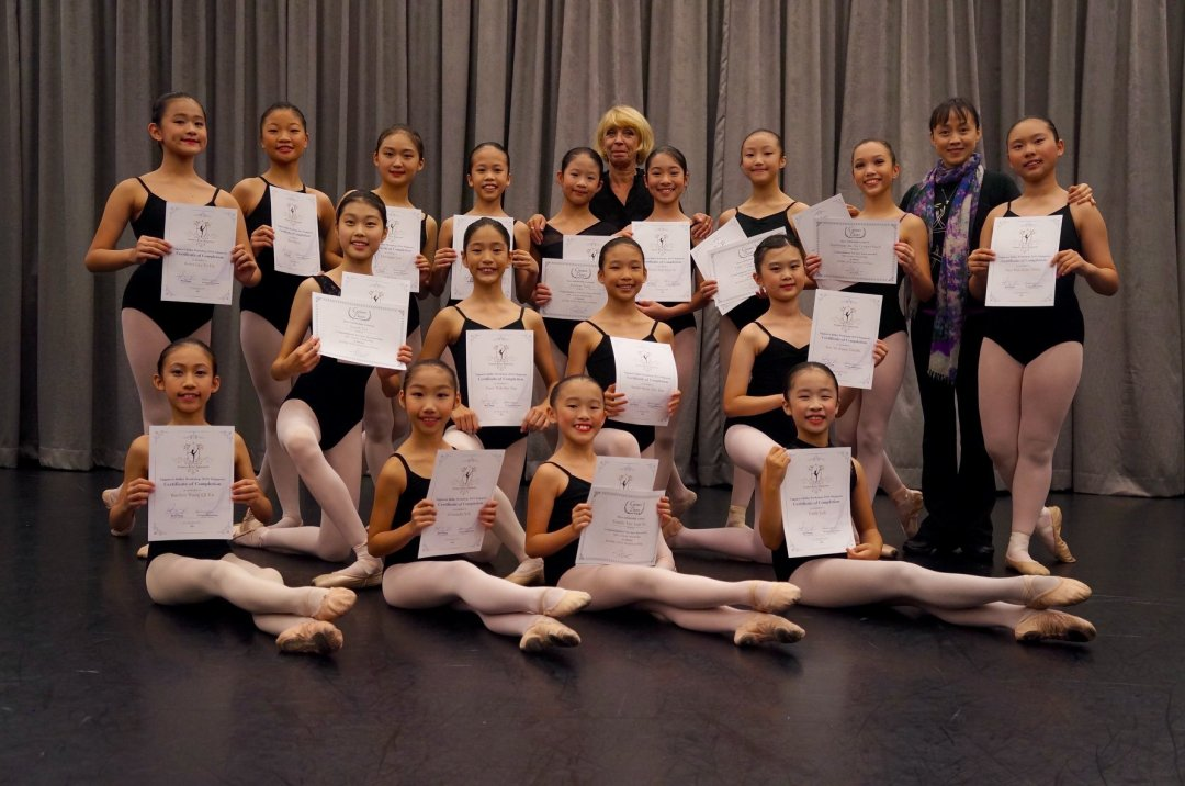 2018 Happenings - Vaganova Ballet Workshop 1