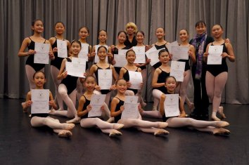 2018 Happenings - Vaganova Ballet Workshop 1