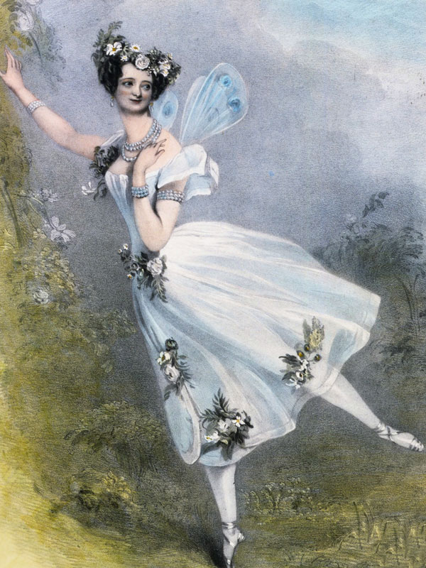 Elevate Appreciation Series - Ballet History - Marie Taglioni as Flore in Charles Didelot 1831